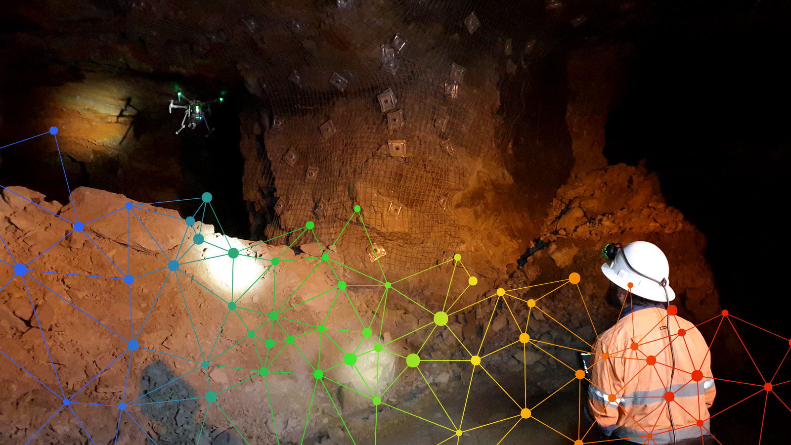 LiDAR Scanning MINELiDAR Underground GPS Denied Environments