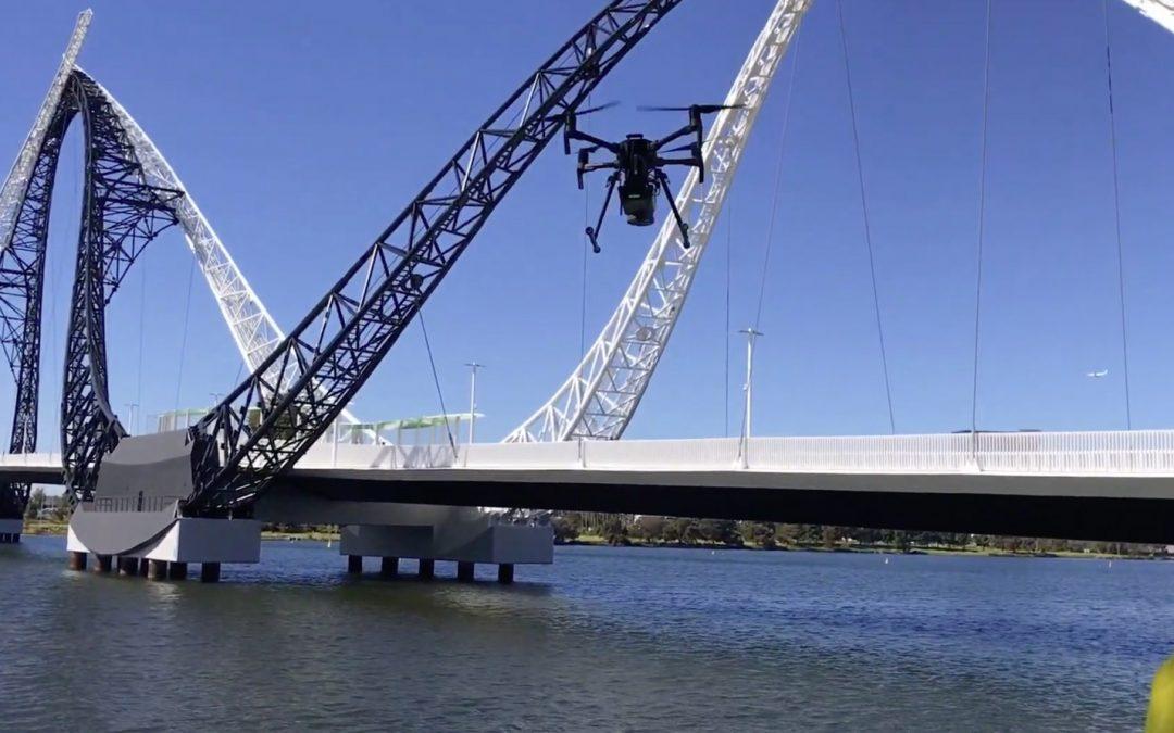 Scanning the Matagarup Bridge