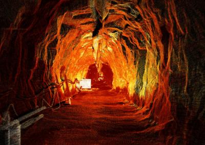 Scanning a 1940s Headrace Tunnel